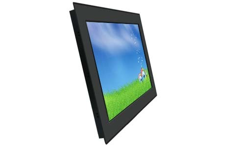 22 inch Outdoor PCAP Touch Screen Monitor with 1000nits IP65 in front of monitor Water Proof 1680x1050 Resolution