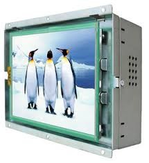 "Sunlight Readable Industrial Grade LCD Monitors 8.4""  With 4 Wire Resistive Touch"