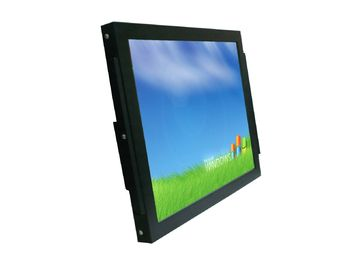 China Flat IP65 Touch Screen Monitor Wallmount Installation Narrow Frame Design factory