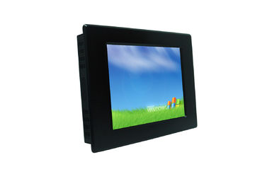 China 10.4 inch Multi Touch Monitor IP65 water proof in front of monitor with Aluminium Bezel factory
