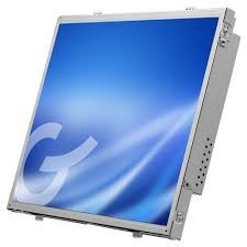 19 inch Resistive Industrial Touch Screen Monitor , Advertising Touch Panel Monitor VGA/DVI Input